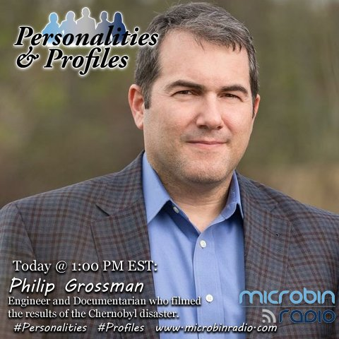 Personalities & Profiles - 2017.08.03: Philip Grossman