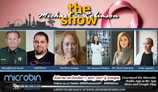 The Michael Robinson Show: 2017.10.07