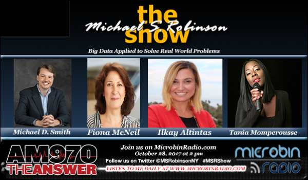 Michael S. Robinson Show - Big Data Applied to Solve Real World Problems