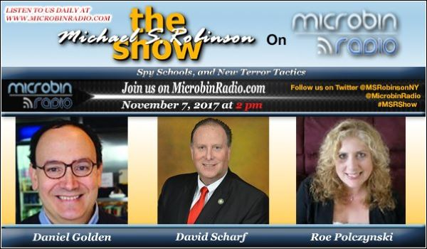 The Michael S. Robinson Show - Spy Schools - Glass Ceiling - Opiod Epidemic